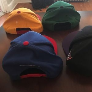 Mitchell & Ness Accessories - 4 Snapback Hats for sale